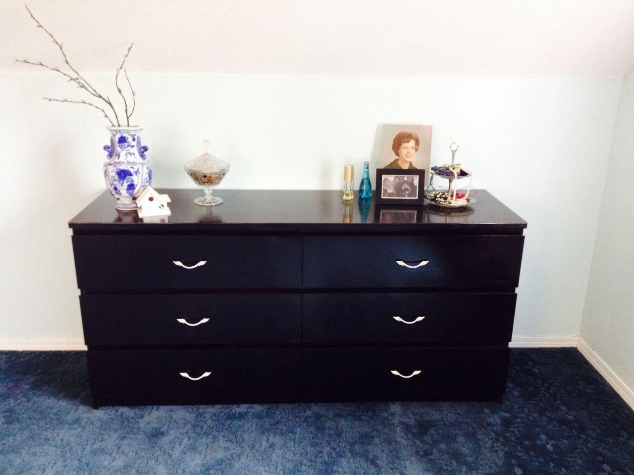 Cassettiera Malm Ikea Usata.Ikea Upcycle Malm Dresser With Images Malm Dresser Dresser As