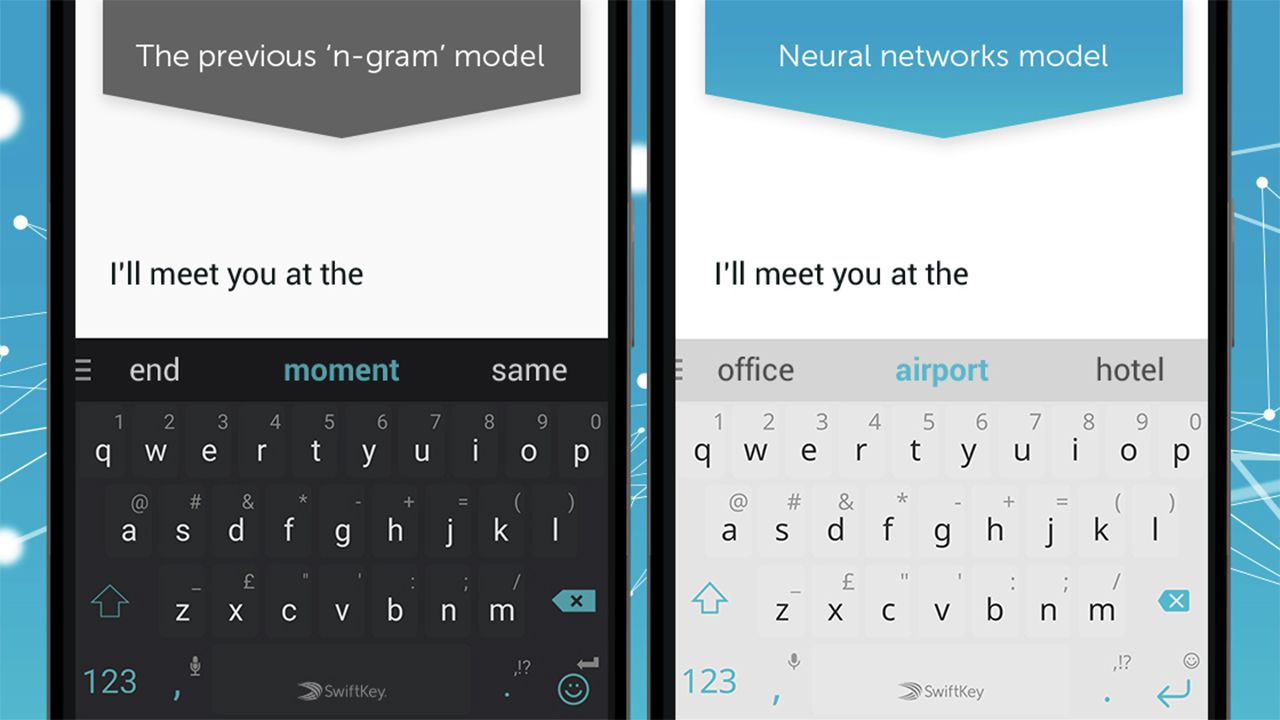 Microsoft Adds Neural Network Predictions to SwiftKey for