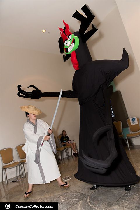 Samurai Jack and Aku - Dragon Con 2015 To be continued in 2016!