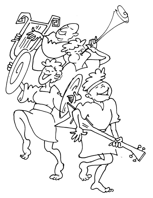 coloring pages praise - photo#6