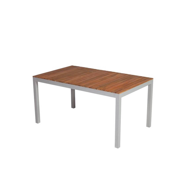 Gartentisch Almeria 29 Aluminiumprofilrohr Mit Akazienholz Bxhxt Ca 150x74x90cm Gartentisch Holz Gartentisch Rattanmobel