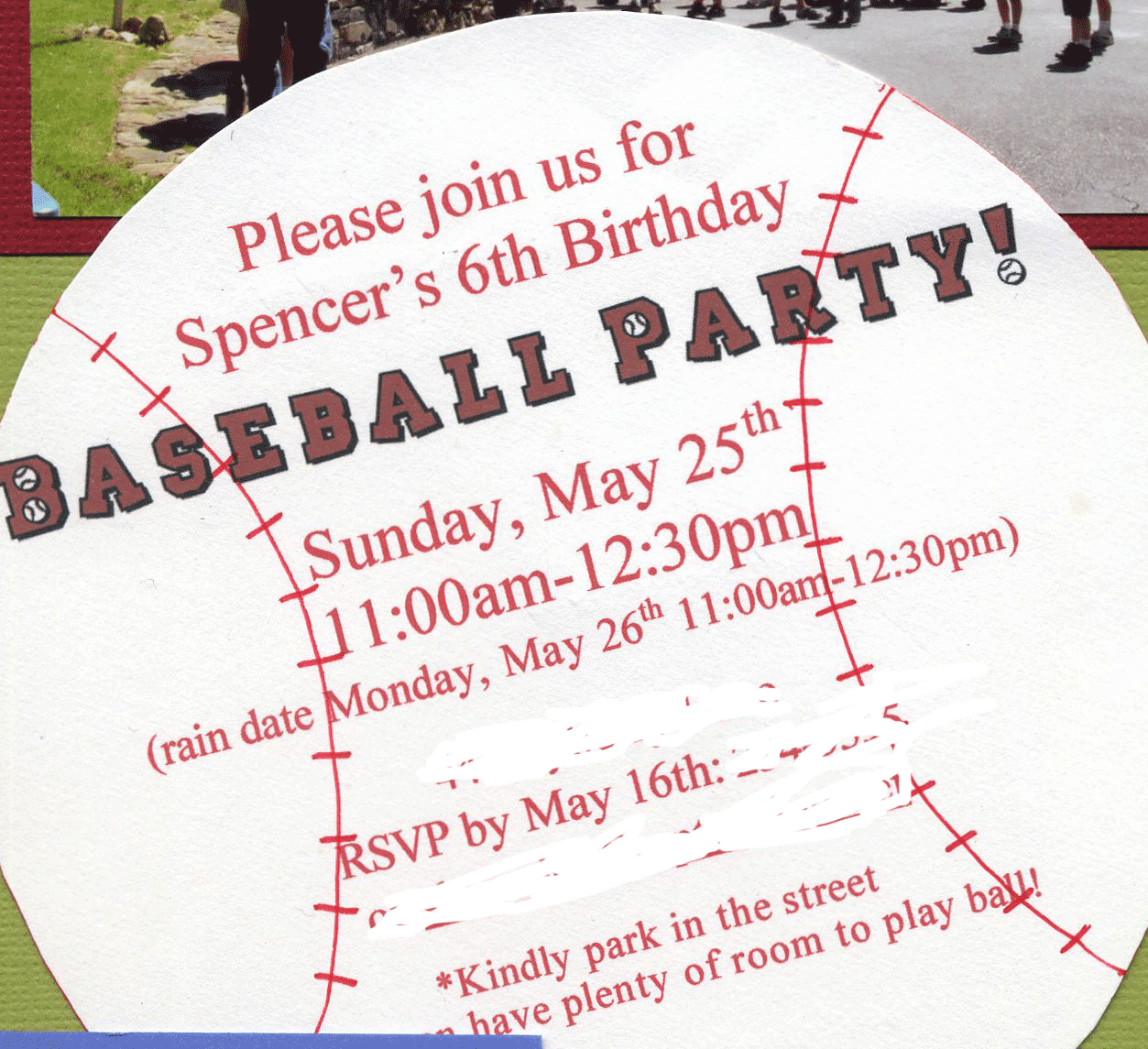 Great 6 Year Old Birthday Party Idea A Baseball Party Baseball
