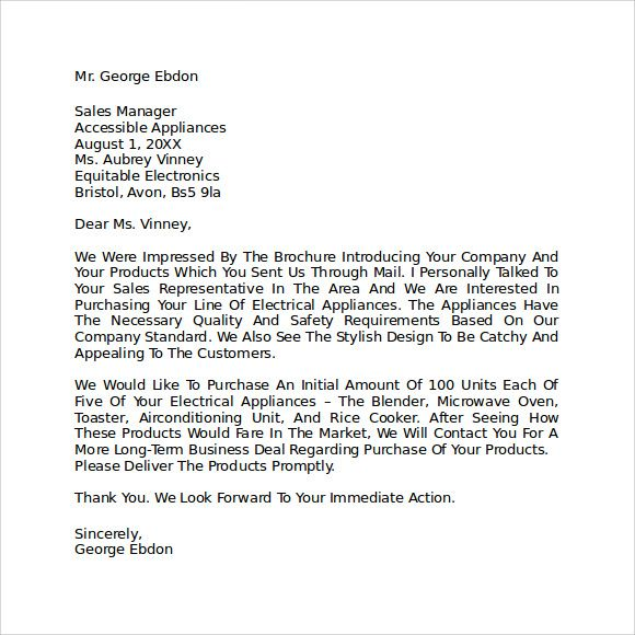 Letter Of Intent To Purchase Business Letter Of Intent Business