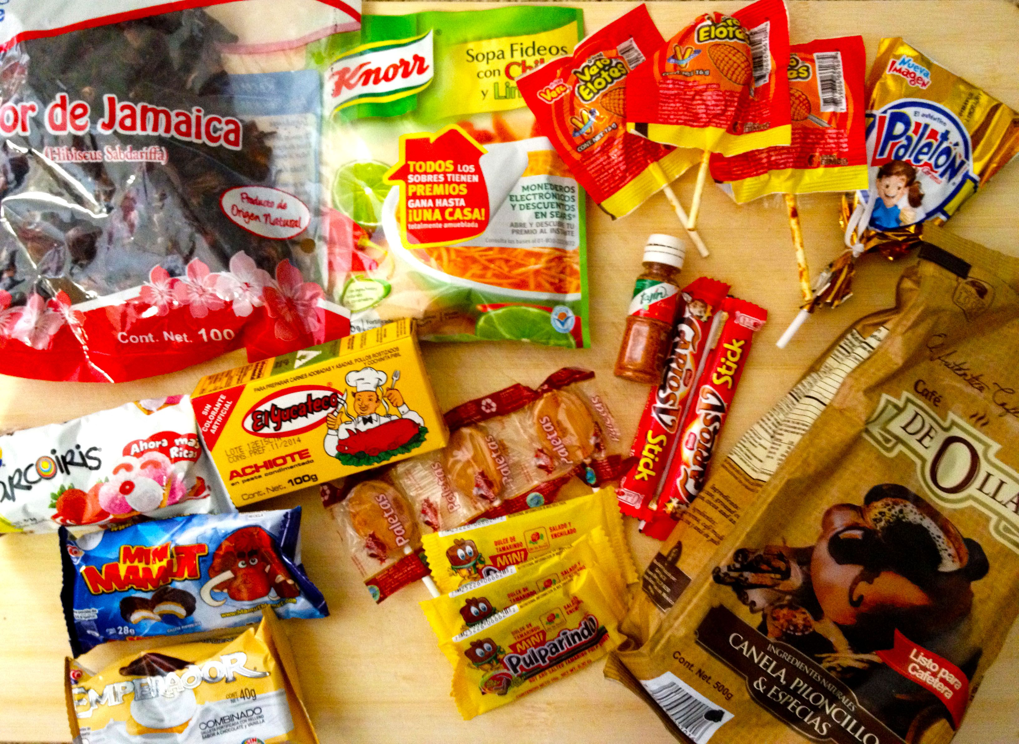 Mexico Food Package sent to Japan. Check out the complete