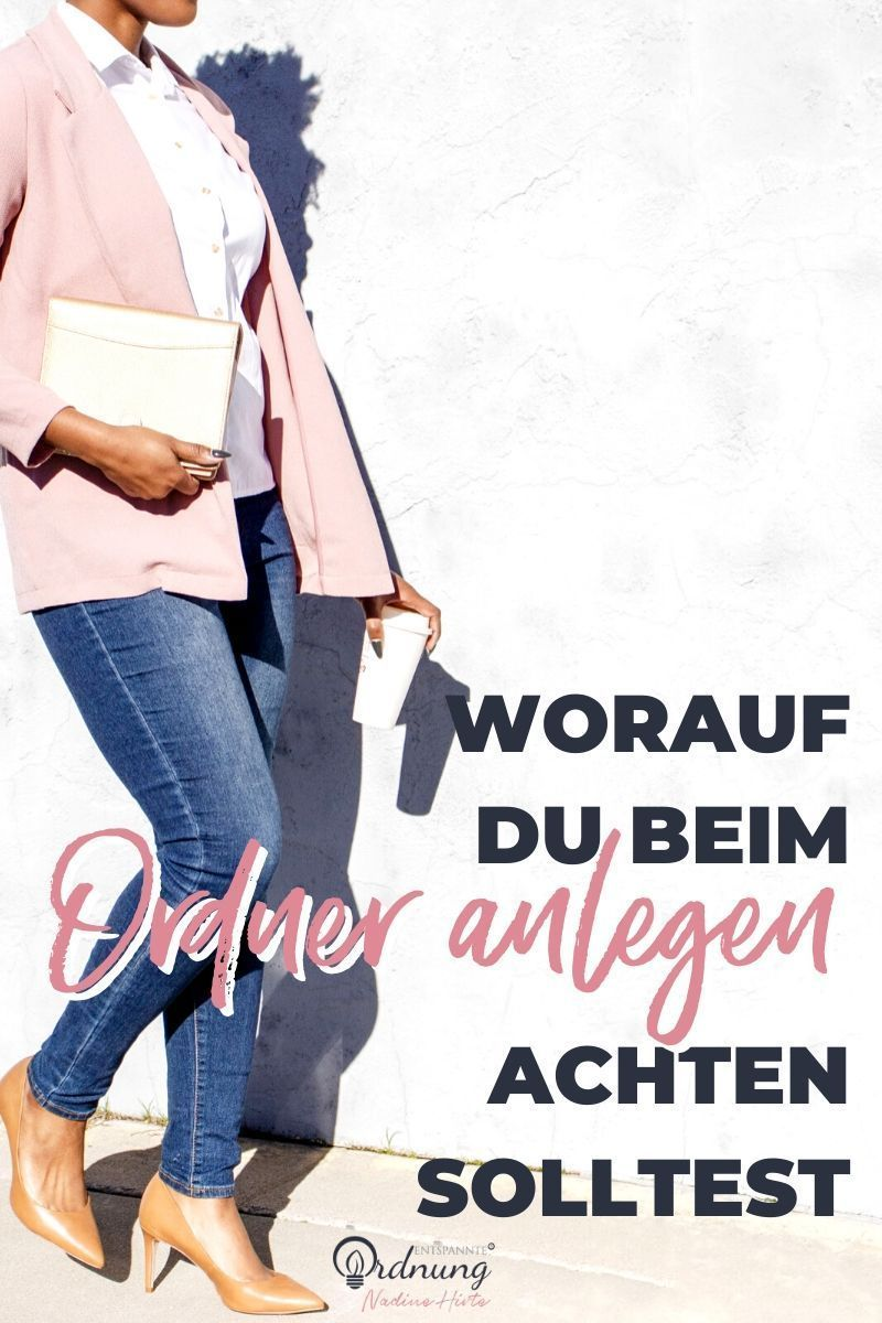 Pin Auf Nadine Hirte Expertin Papierkram Digitale Ordnung
