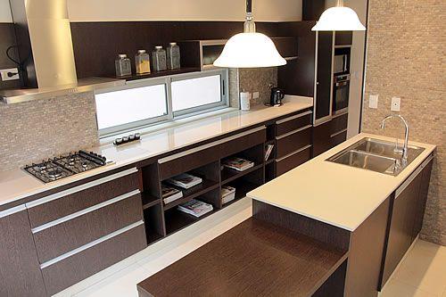 Amoblamiento de cocina a medida ideas para el hogar Amoblamientos de cocina modernos