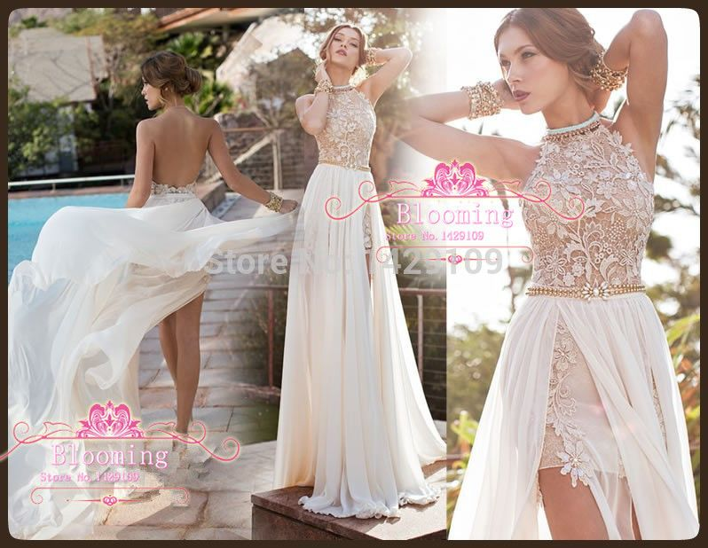 summer flowing wedding dresses - Google Search