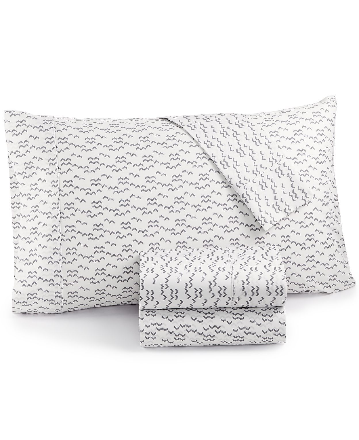 Printed Dart 200 Thread Count Cotton Sheet Sets Cotton