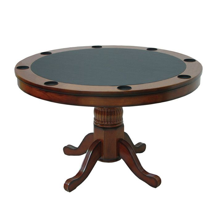 Ram Game Room Round Poker Table Wayfair With Images Round