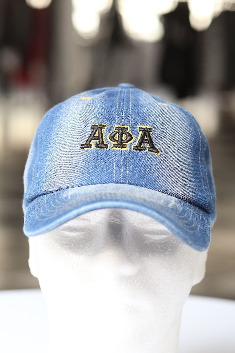 d34e84efb1e My ΑΦΑ Jeans polo dad hat