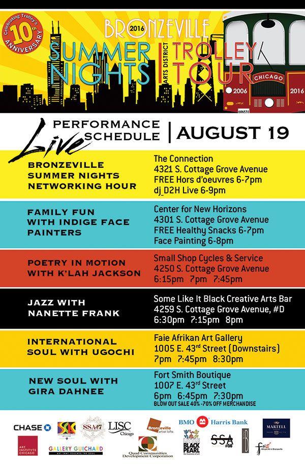 Event Program Schedule Design Schedule Design Event Program Chicago Tours