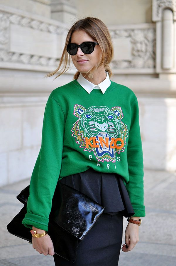 01157cd9 kenzo green sweatshirt   Fashion Love   Kenzo sweater, Fashion, Kenzo