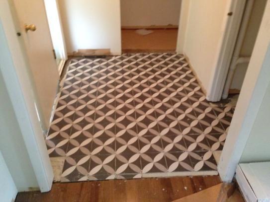 Merola Tile Twenties Petal 7 3 4 In X Ceramic Floor And Wall Frc8twep At The Home Depot Mobile