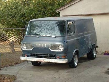 60 S Econoline Vans 60 S Style Ford Trucks Vintage Vans Vans