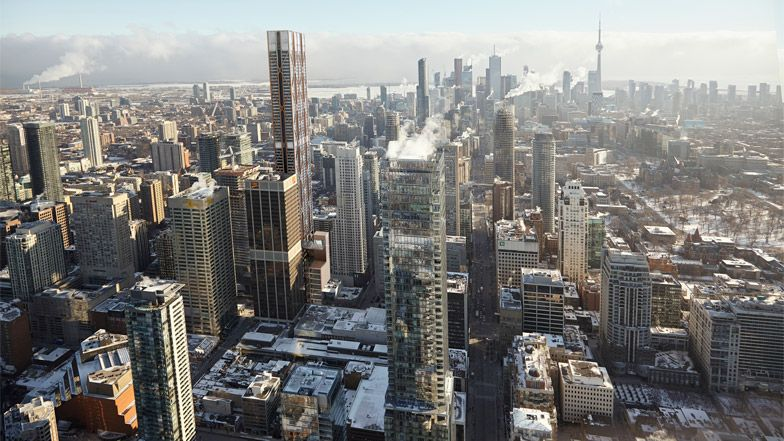 Foster + Partners to create Canada's tallest habitable building in Toronto.