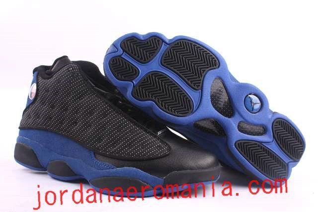 free shipping a606c ee84f Nike Air Jordans Retro 13(XIII) Noir Bleu