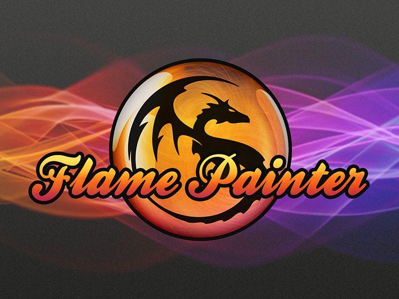 Flame Painter is a unique paint program, drawing software that lets ...