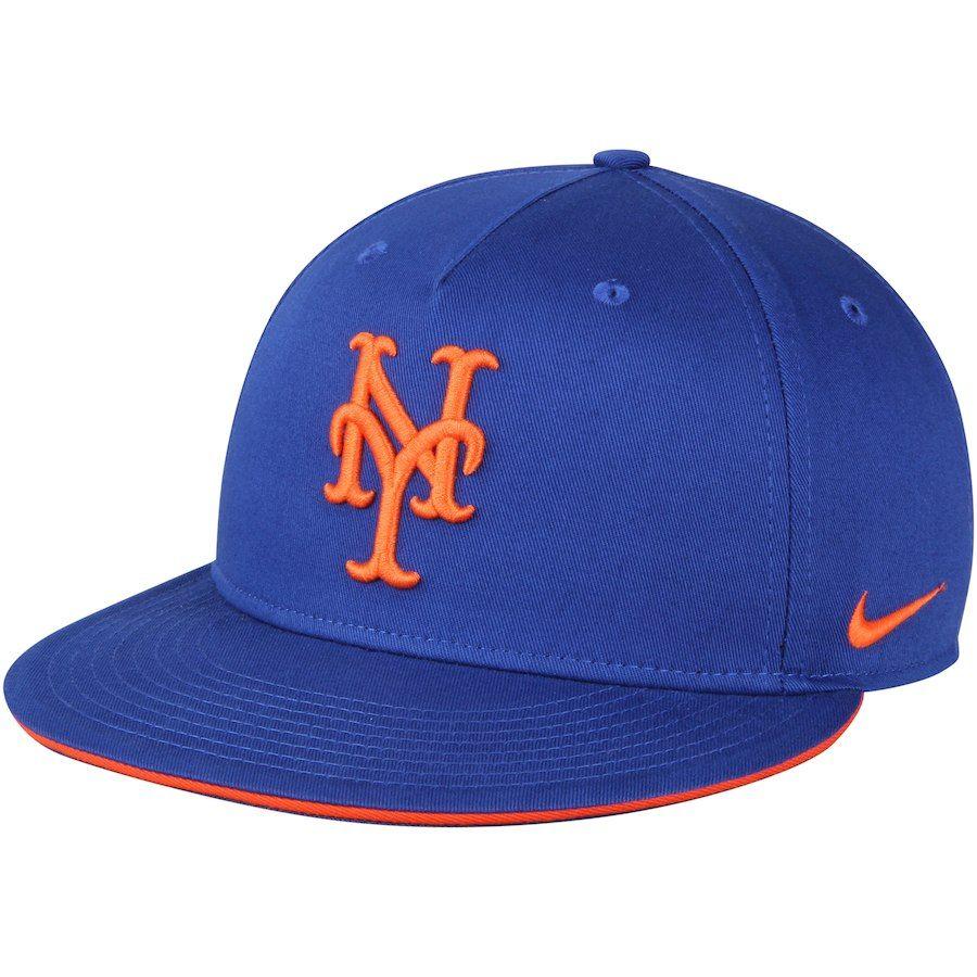 d263da2d8 Men's New York Mets Nike Royal True New Day Adjustable Snapback Hat ...