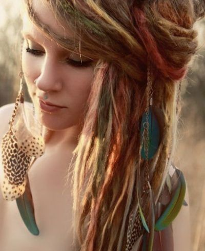 Brilliant Along With Lovely Dread Hairstyles For White Women