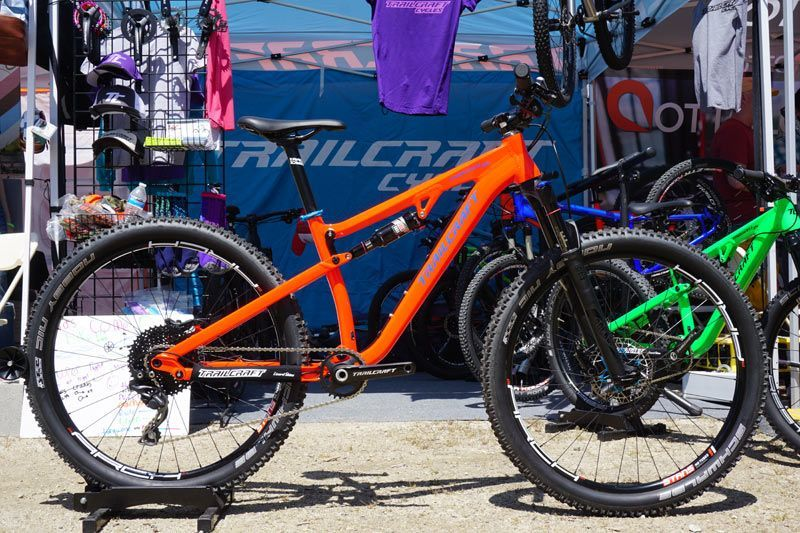 Soc17 Trailcraft Cycles Adds Full Suspension Plus Mountain Bikes For Kids And Really Small Adults