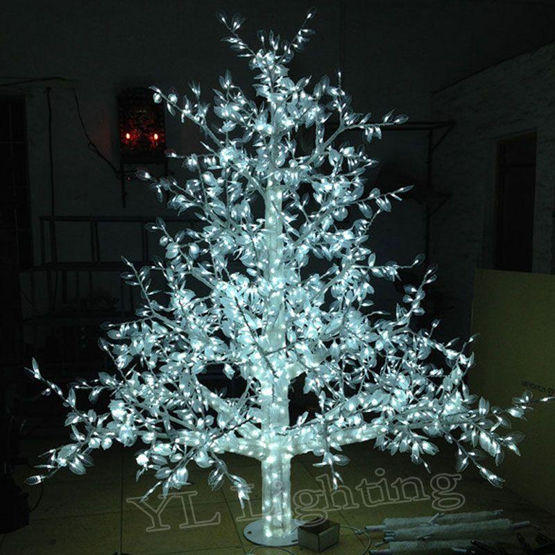 20meter white xmas decorations christmas led light tree for holiday home outdoor garden home europeusa