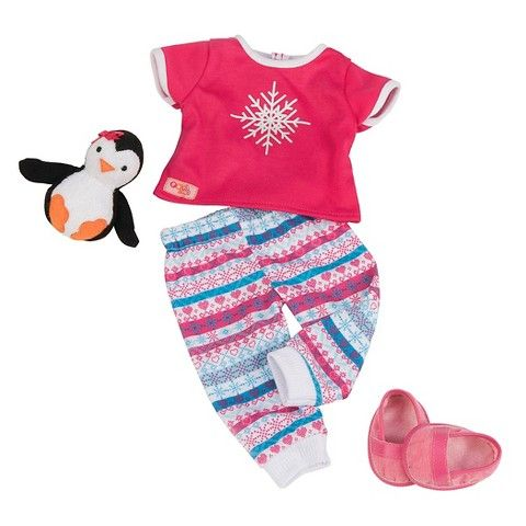 our generation pj 39 s and penguin doll outfit target ag non ag dolls our generation doll. Black Bedroom Furniture Sets. Home Design Ideas