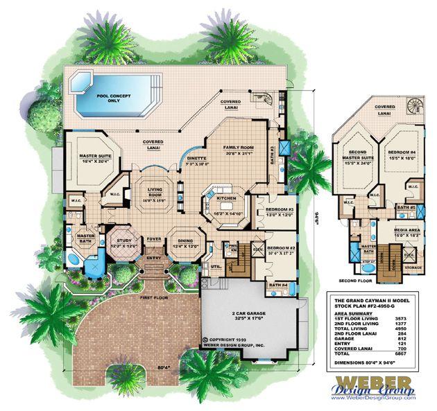 Contemporary House Plan Tavilla Grand Cayman House Plan Weber Design Group Weber Design Group Plany Etazhej Doma Plany Kottedzhej Planirovki
