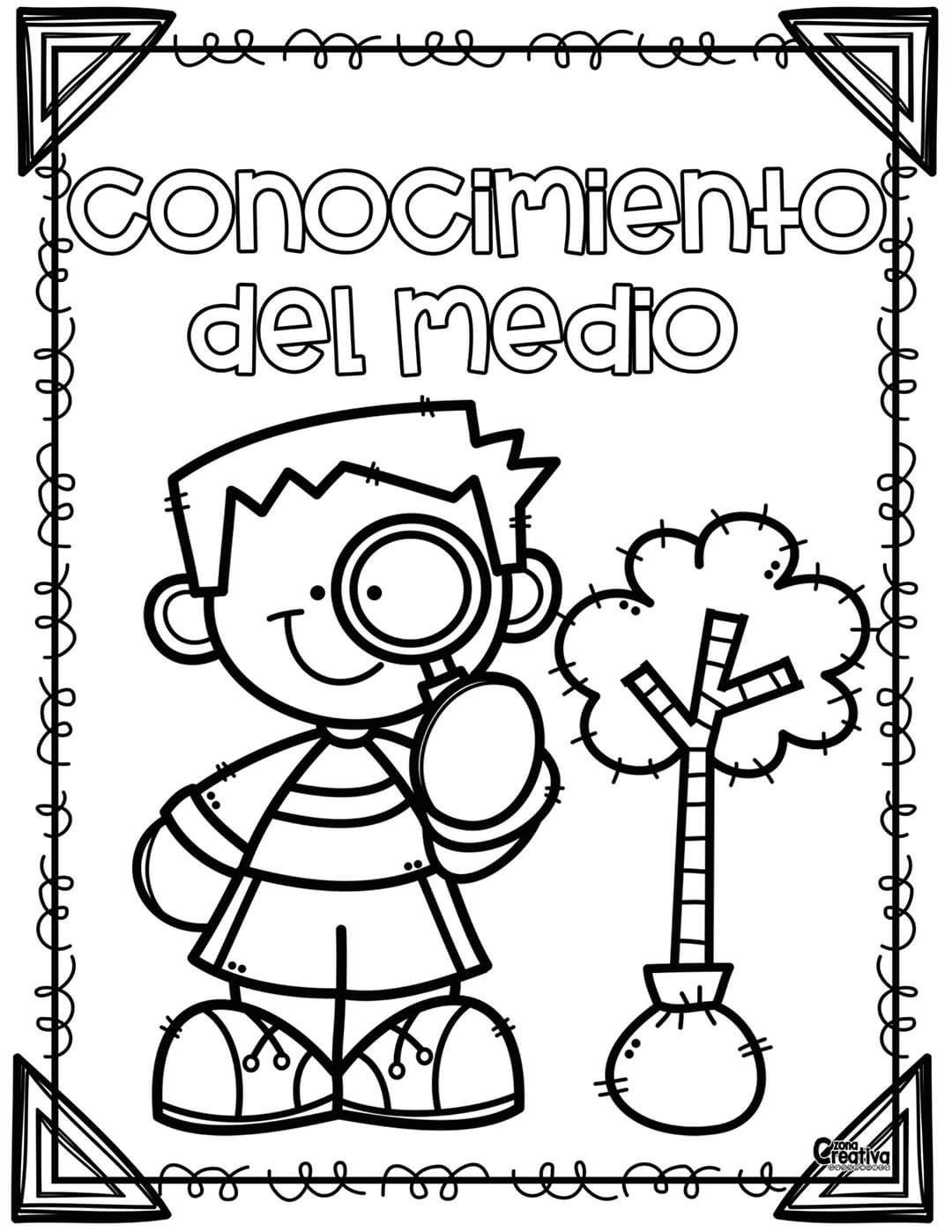 Pin De Zosia En Jardín Cubiertas De Carpeta De Escuela Portadas De Trabajos Letras Mayusculas Para Imprimir