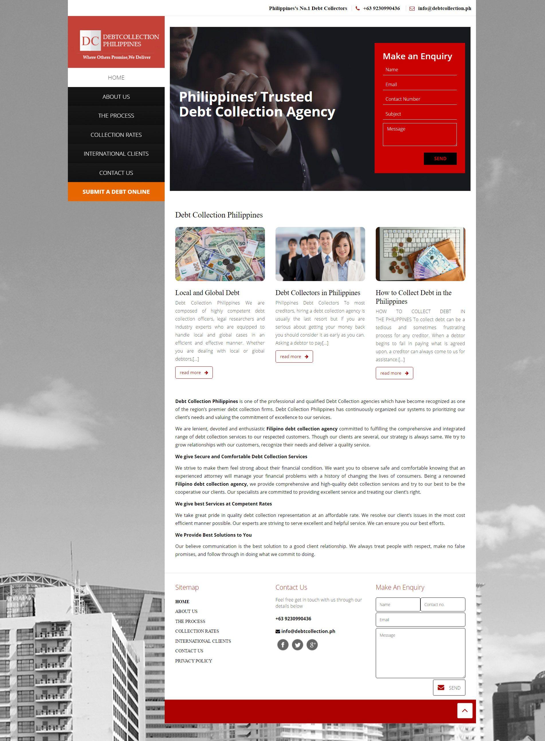 Http Debtcollection Ph Debt Collection Debt Collector