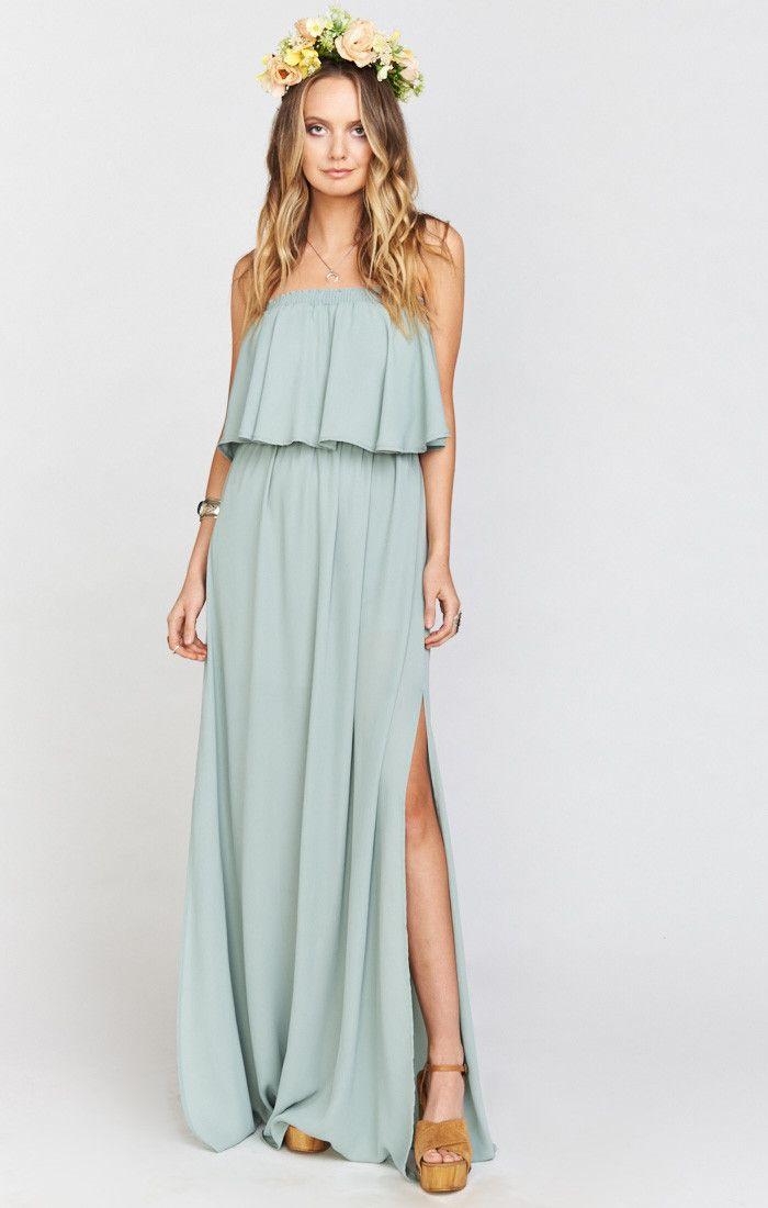 Hacienda Maxi Dress ~ Silver Sage Crisp | Pinterest | Silver sage ...
