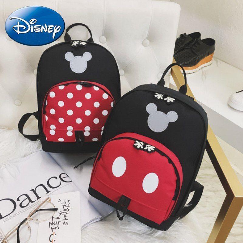 Girls Mickey Mouse Backpack Handbag Mini Bag Women Shoulder Kindergarten Kid US