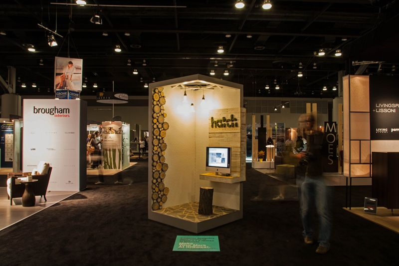 Booth at IDSwest 2012 by Hatch Interior Design, Kelowna, BC