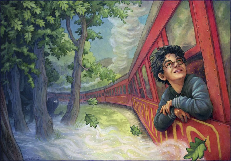 Harry Potter And The Philosopher S Stone Elizabeth Alba Harry Potter Artwork Harry Potter Fan Art Harry Potter Drawings