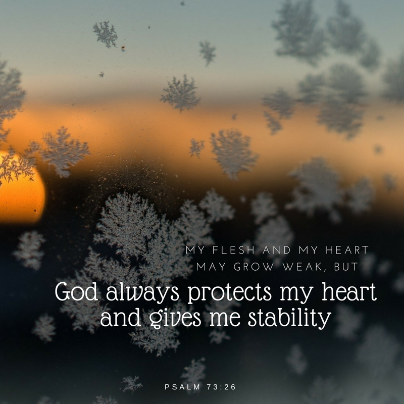 Pin by Sam on Scriptures Psalm 73 26, Bible scriptures