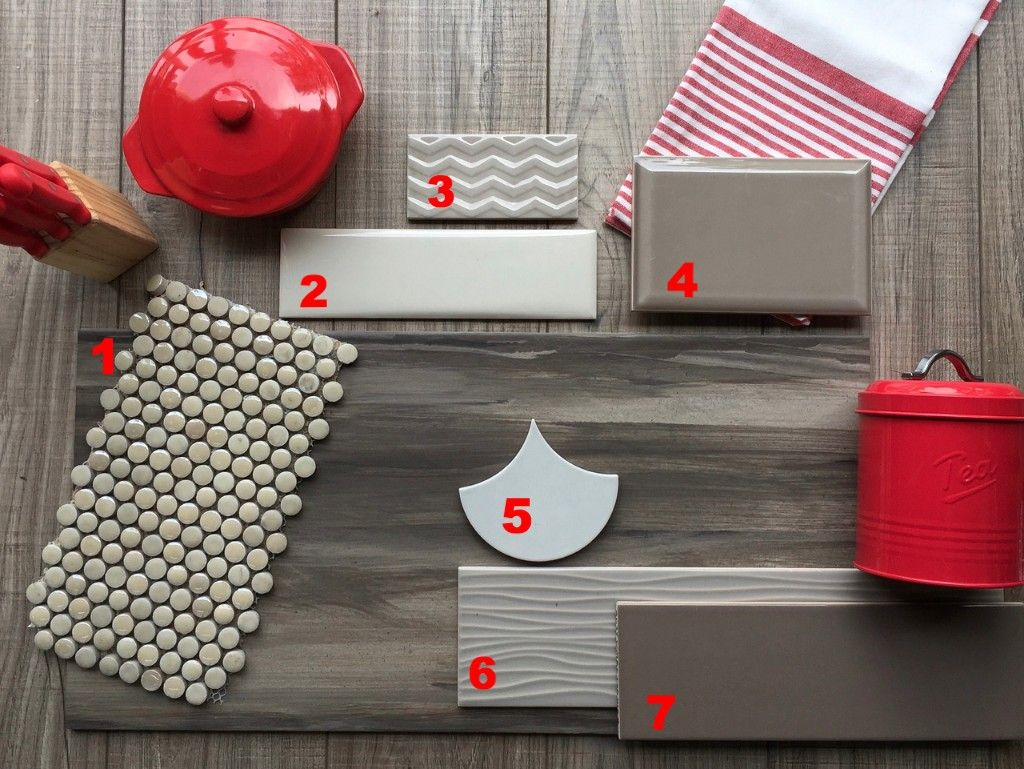Which of these tile backsplashes would you choose to go with the ...