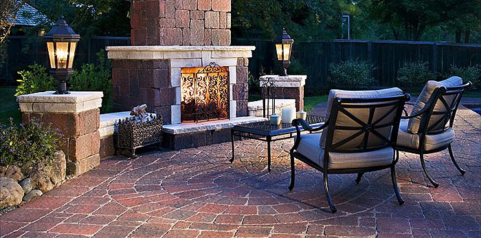 Outdoor Fireplaces & Firepits / Kits | Patriot Brick ... on Patriot Outdoor Living id=63842