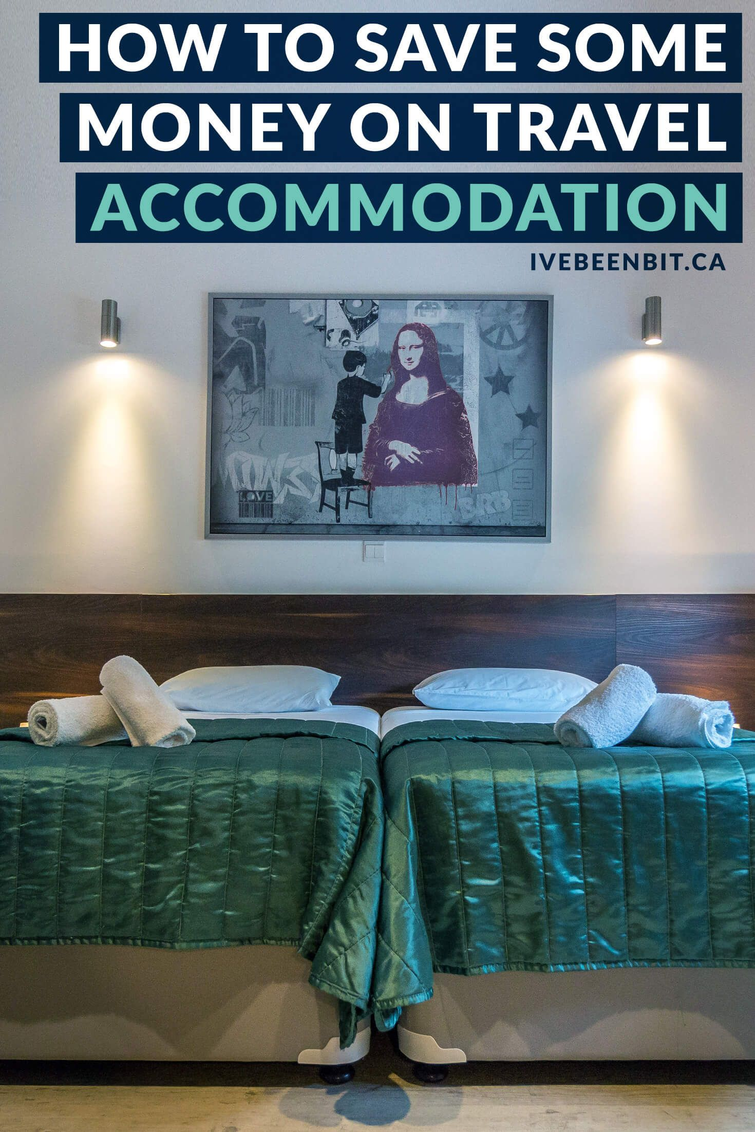 From hotels to Airbnb and more, see how you can keep more money in your pocket as you travel. There is no magic website that will find you the best hotel deals, but this guide has tips for saving money on accommodation! | #Travel #Accommodation #Hotels #HotelDeals | IveBeenBit.ca