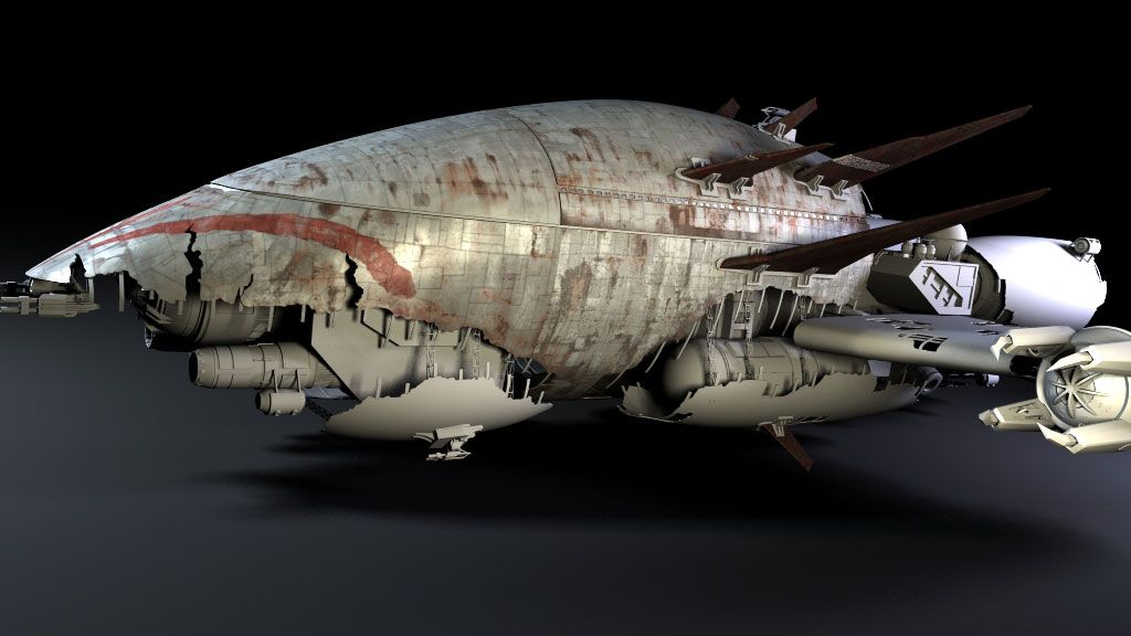 schematics - bing images firefly serenity ship: nice  very much reminds  me of the