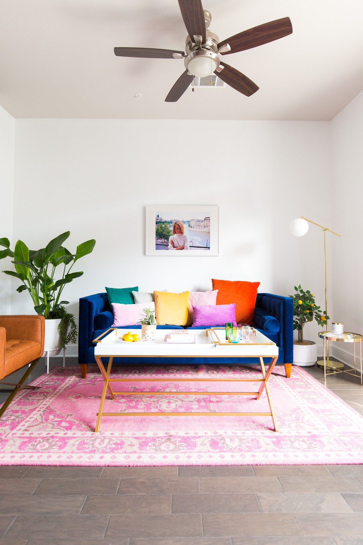 Living Room Makeover: How to Choose the Perfect White Wall Paint ...