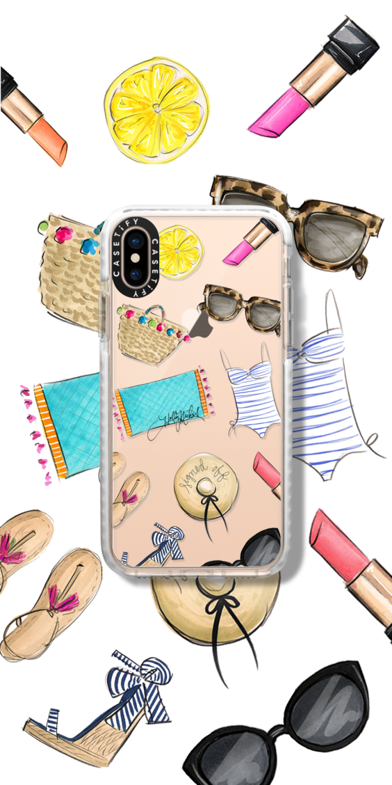 HollyNichols Casetify Collaboration Collab iPhone