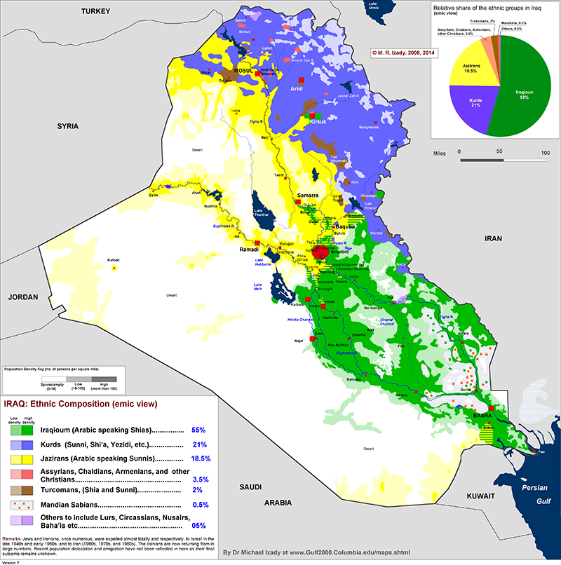 27 maps that explain the crisis in Iraq | Map, Political ...