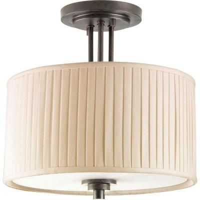 137 thomasville semi flush ceiling light with lampshade very rh pinterest com