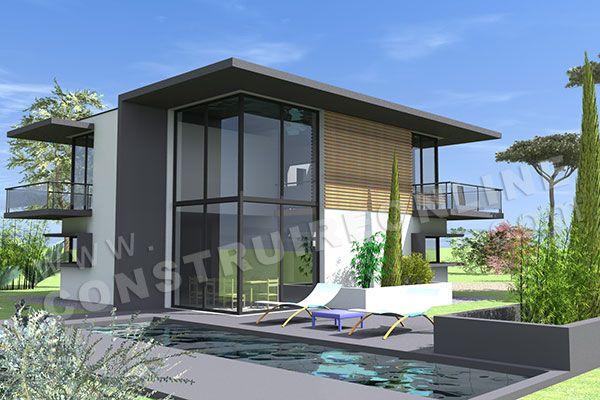 maison a tage t6 de 152m2 avec 2 salles de bain budget estime pour la construction 375k en