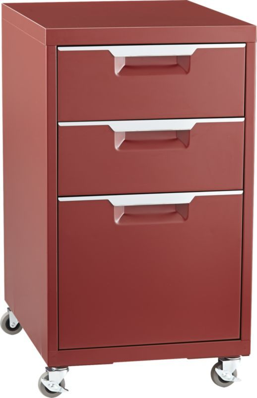 Totally Perfect Storage File Under Mechanic Chic Cabinet
