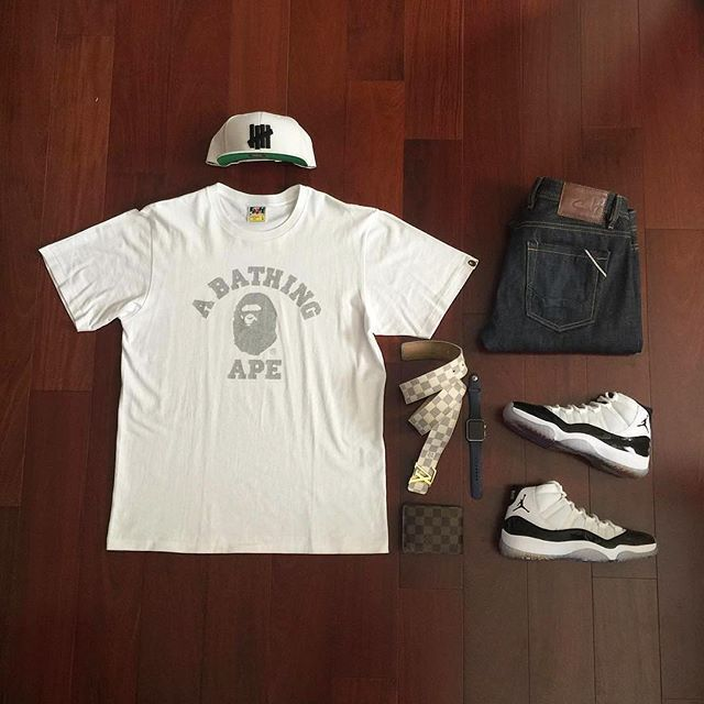 outfits to wear with jordan 11s