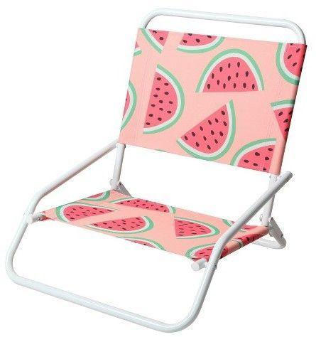 Ev Summer Low Folding Beach Chair Patterned Watermelon Folding Beach Chair Folding Beach Chair Patterned Chair Beach Chairs