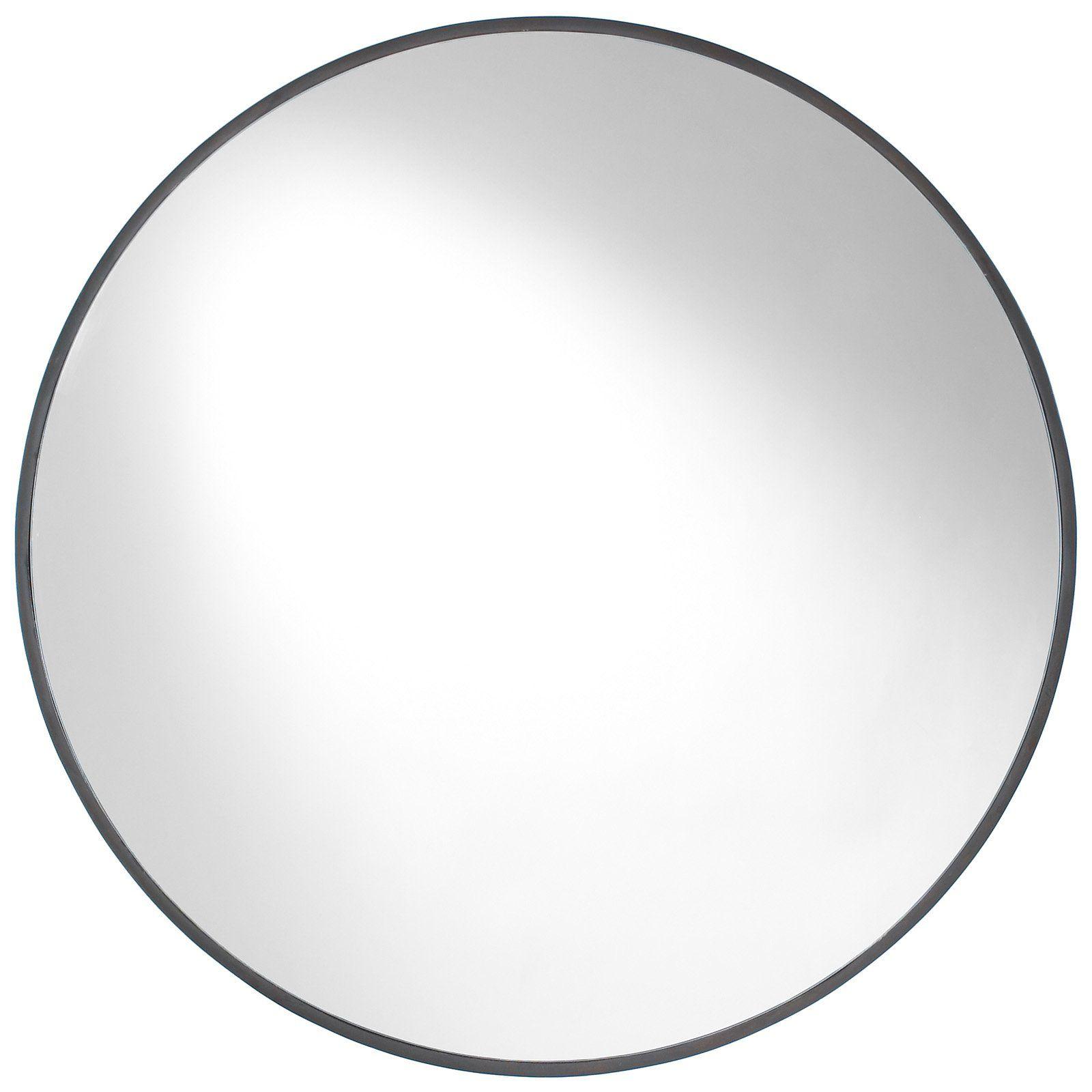 Good 34 Inch Round Mirror Part - 3: Cooper Classics Cordova Round Mirror - 34 Diam. In. - Add Depth To Any