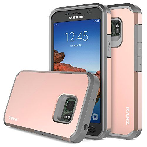 Galaxy S7 Active Case Ranz Grey With Rose Gold Hard Impa Phone Case Cover Galaxy S7 Cases Smartphone Case