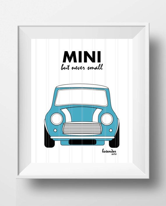 Wall Art Home Decoration Art Decor MINI Cooper Wall Art Blue MINI & Wall Art Home Decoration Art Decor MINI Cooper Wall Art Blue ...