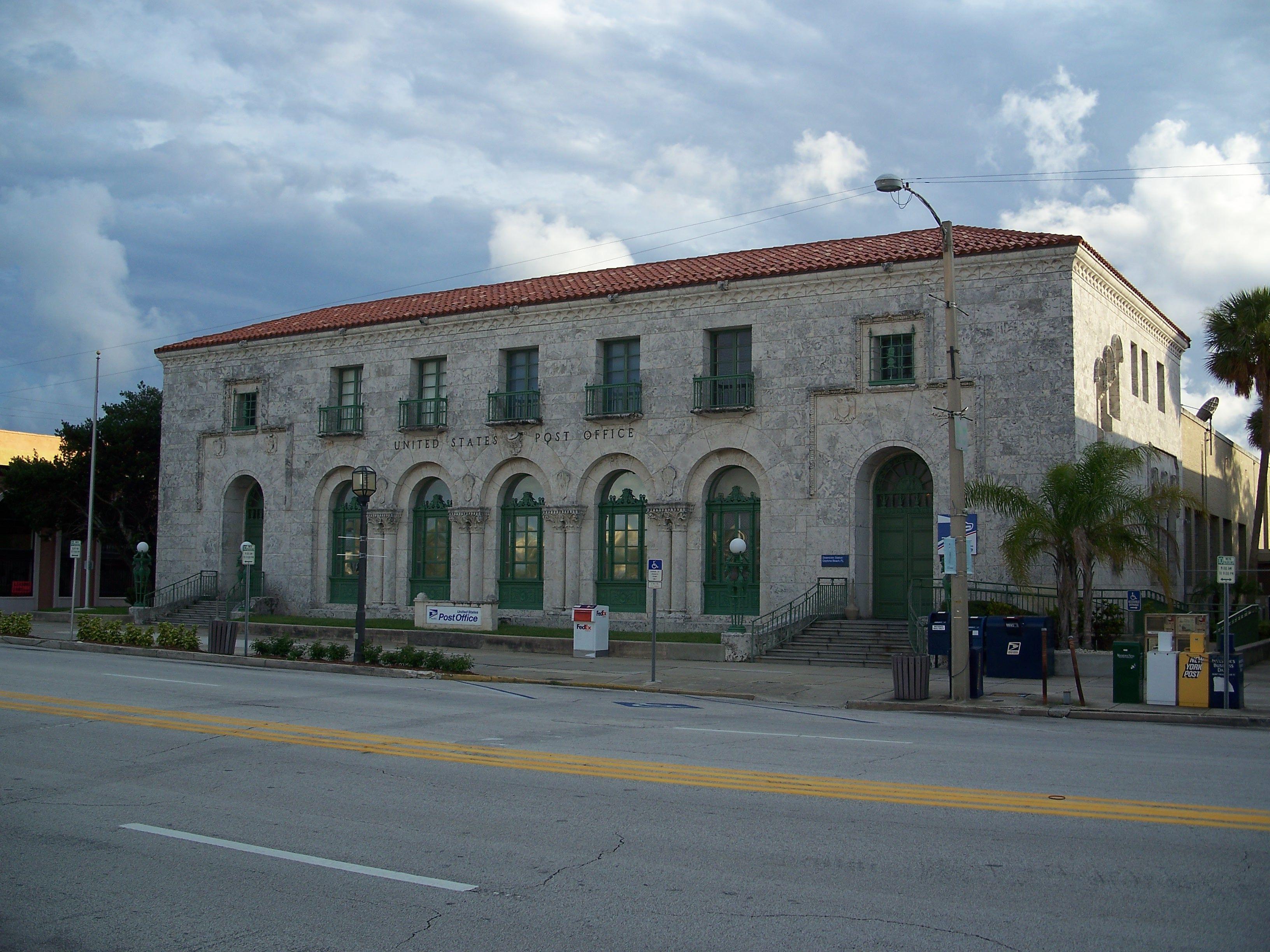 Daytona Post Office Post Office Building House Styles